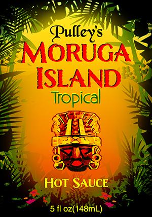 Moruga Island Front Label